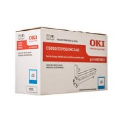 DRUM UNIT OKI (C5850_5950) 43870023 CYAN