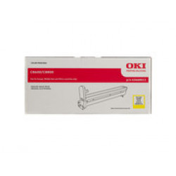 DRUM UNIT OKI (C8600) 43449013 YELLOW