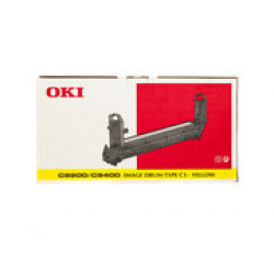 DRUM UNIT OKI (C9000) 41514709 (TYPE C3) YELLOW