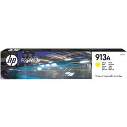 Картридж HP No.913A PageWide 352/377/452/477 Yellow (3000 стр)