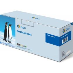 G&G-CE401A: Картридж G&G для HP CLJ M551/M570/M575 Cyan (6000 стр)