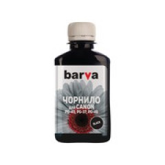 ЧЕРНИЛА BARVA CANON PG-40 BLACK 180 Г (ПИГМЕНТ) (C40-081)