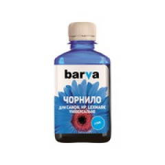 ЧЕРНИЛА BARVA CANON/HP/LEXMARK УНИВЕРСАЛЬНЫЕ №4 CYAN 180 Г (CU4-476)