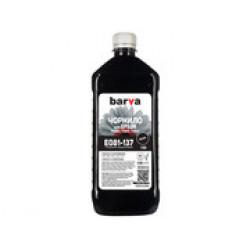 ЧЕРНИЛА BARVA EPSON T0811 (1410/P50/T50/R270/TX650) BLACK 1 КГ (E081-137)