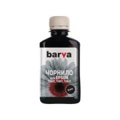 ЧЕРНИЛА BARVA EPSON T0811 (1410/P50/T50/R270/TX650) BLACK 180 Г (E081-135)
