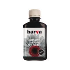 ЧЕРНИЛА BARVA EPSON T1301/T1291/T1281/T1031/T0731 (SX525) BLACK 180 Г (ПИГМЕНТ) (E130-535)