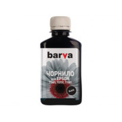 ЧЕРНИЛА BARVA EPSON T1361 (K101) BLACK 180 Г (SOFT ПИГМЕНТ) (E136-378)
