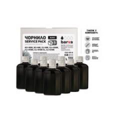 ЧЕРНИЛА BARVA CANON CLI-521/CL-511 (MG2140/MP230/MP250/MP280) BLACK 1 Л (10X100 МЛ) SERVICE PACK (C521-1SP-B)