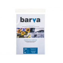 ХОЛСТ BARVA FINE ART НАТУРАЛЬНО-БЕЛЫЙ МАТОВЫЙ (IC-XA10-T01) А4 5 Л