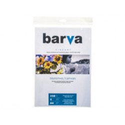ХОЛСТ BARVA FINE ART ЯРКО-БЕЛЫЙ МАТОВЫЙ (IC-XA12-T01) А4 5 Л
