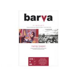 БУМАГА BARVA FINE ART НАТУРАЛЬНО-БЕЛАЯ СИЛЬНОТЕКСТУРИРОВАННАЯ (IP-ZC315-T01) А4 5 Л