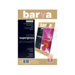 БУМАГА BARVA PROFI БЕЛЫЙ СУПЕРГЛЯНЕЦ (IP-R200-T01) А4 5 Л