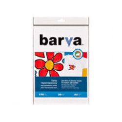 БУМАГА BARVA THERMOTRANSFER БЕЛЫЕ ТКАНИ (IP-T200-074) А4 20 Л
