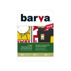 БУМАГА BARVA THERMOTRANSFER ЧЕРНЫЕ ТКАНИ (IP-T205-075) А4 20 Л