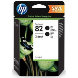 Картридж HP No.82 DesignJet 510 Black (2*69ml) Двойная упаковка