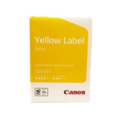 ОФИСНАЯ БУМАГА CANON YELLOW LABEL А4 500Л 80Г/М КЛАСС С, MONDI