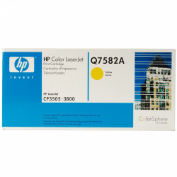 Картридж HP CLJ3800 yellow