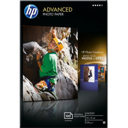 Бумага HP 10x15cm Advanced Glossy Photo Paper, 100л.
