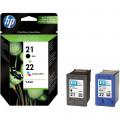 Картридж HP No.21/22 Black/Tri-color Combo Pack